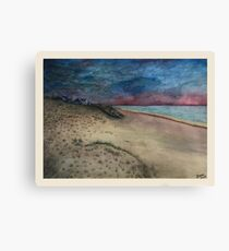 A Brewing Storm Canvas Print