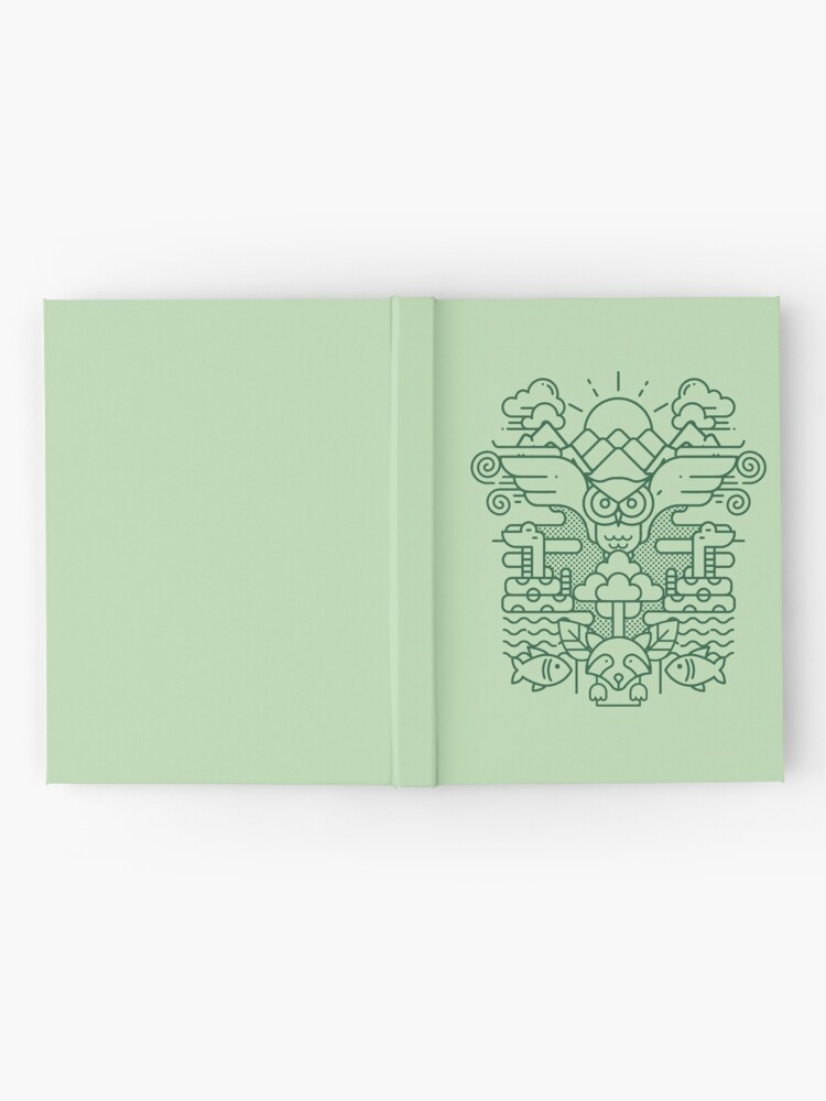 Alternate view of I Dream of Ecology Hardcover Journal
