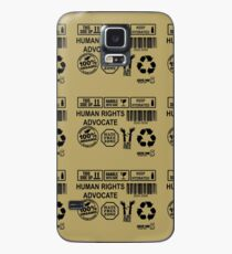 Defender of human rights (black) Case/Skin for Samsung Galaxy