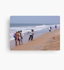 Beach ball fun Canvas Print