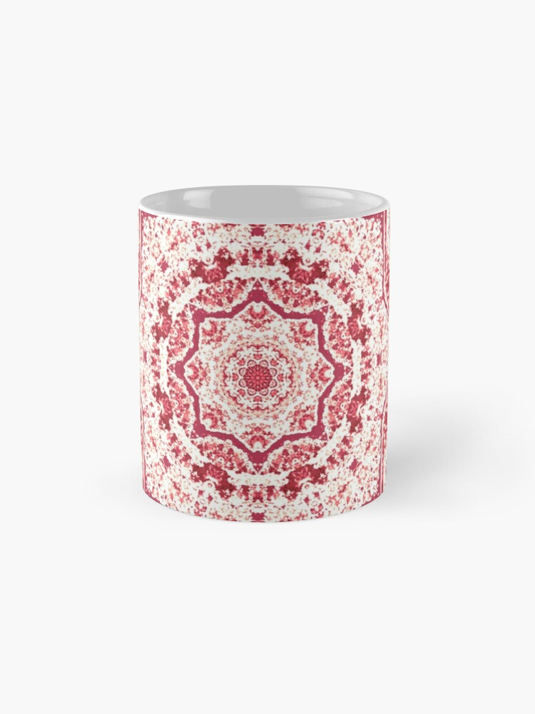 Alternate view of Gift for Yogi - Zen Pink Mandala Design  Mug