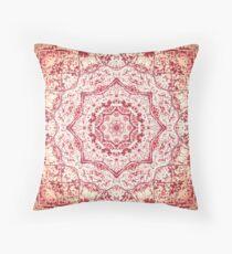 Gift for Yogi - Zen Pink Mandala Design  Throw Pillow