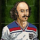 "Will ""the bard"" Shakespeare. Poet of Midfield, England by pupazzaro"