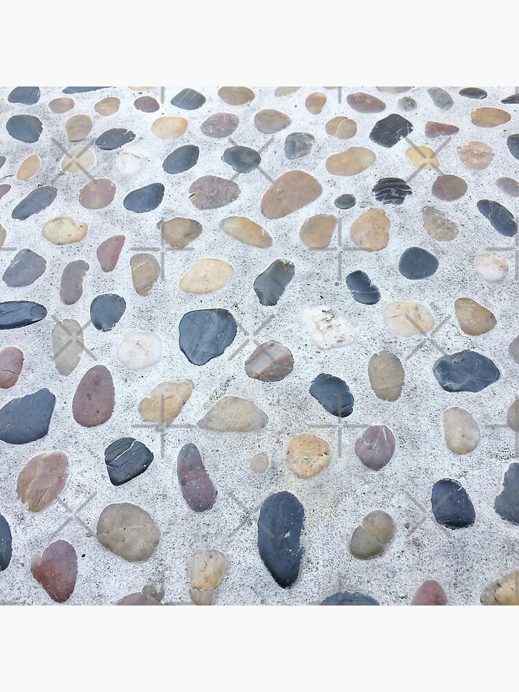 Minimalistic Gift - Stones and Pebbles Design by OneDayArt