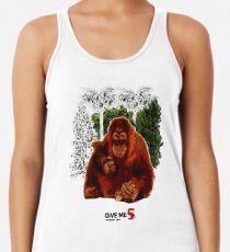 Let's save the orangutan Women's Tank Top