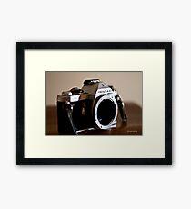 Pentax SLR Framed Print