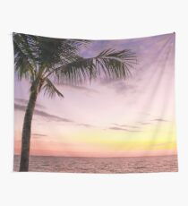 Palm in Paradise Wall Tapestry
