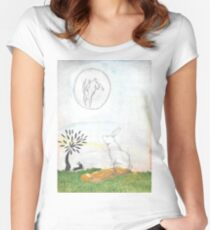 Watership Down Women's Fitted Scoop T-Shirt