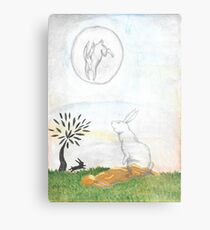 Watership Down Metal Print