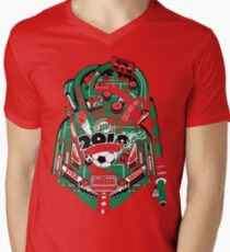 Football Pinball! Men's V-Neck T-Shirt