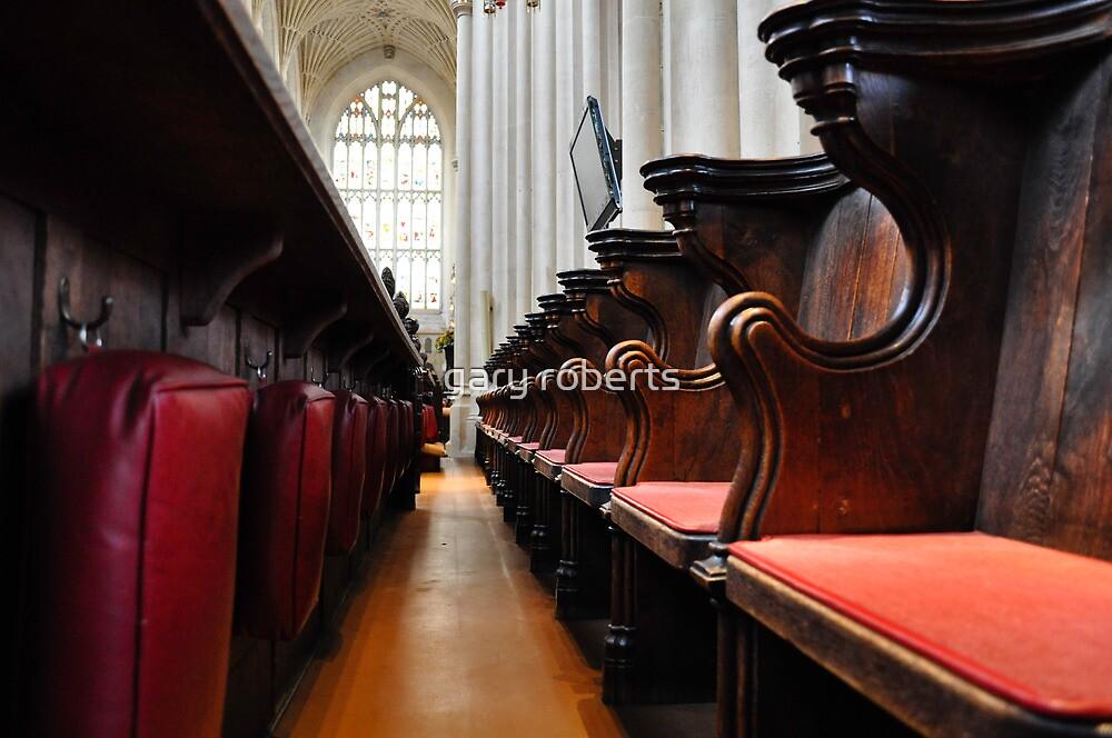 bath abbey, england by gary roberts