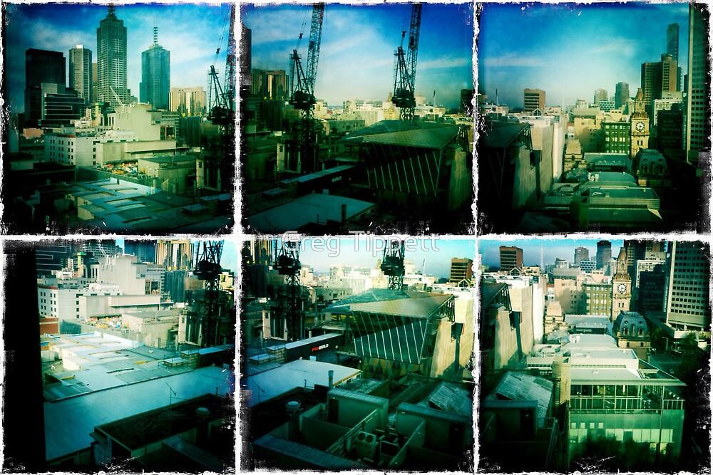 My Melbourne CBD view # 1 by Greg Tippett