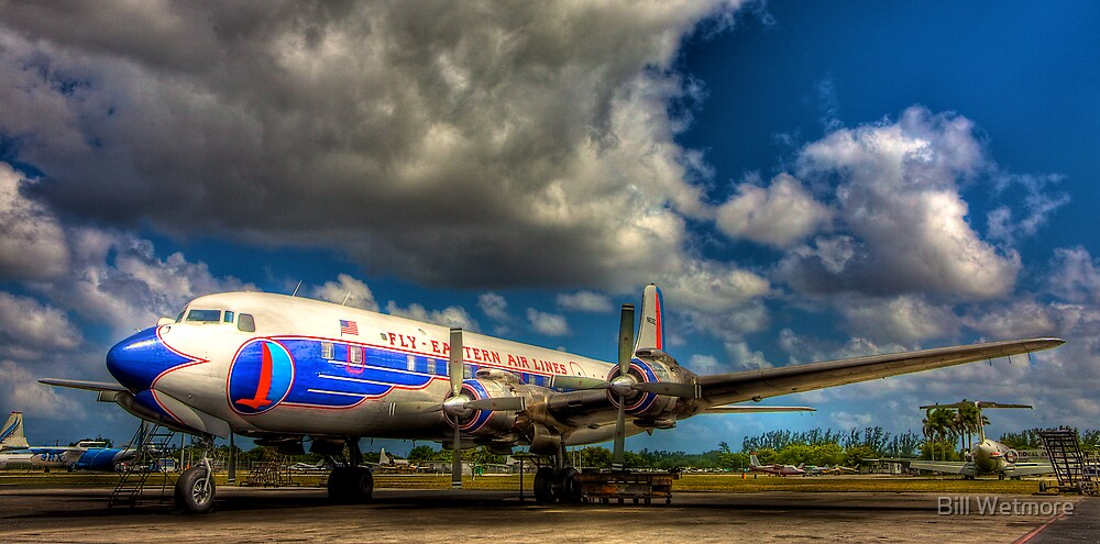 Eastern Airlines Vision of the Past by Bill Wetmore