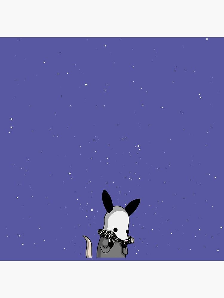 Midnight Posso - Tiny Snek Comics by acohen110