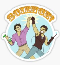 Science Bros. Sticker