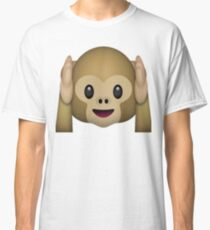 Monkey Emoji - Hear No Evil Classic T-Shirt