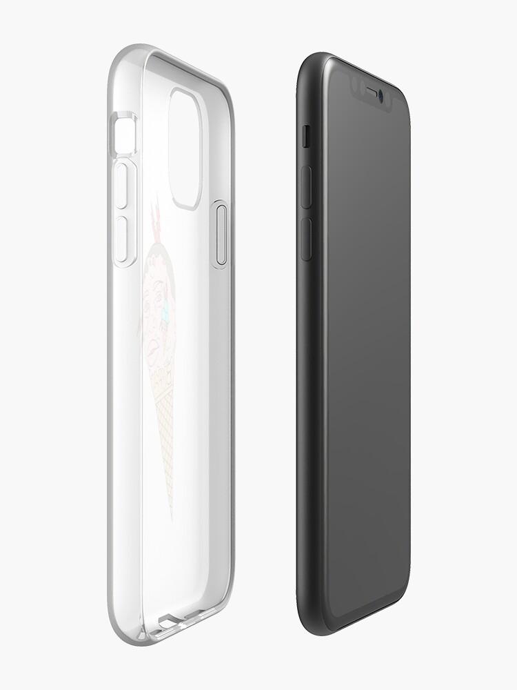 Coque iPhone «GLACE ET TÊTE GUCCI MANE 1017», par WeFlaya