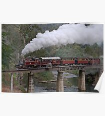 NA Returns to Walhalla Goldfield Railway Poster