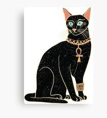 Lienzo Gato egipcio