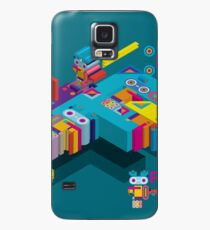F graphics pattern Case/Skin for Samsung Galaxy