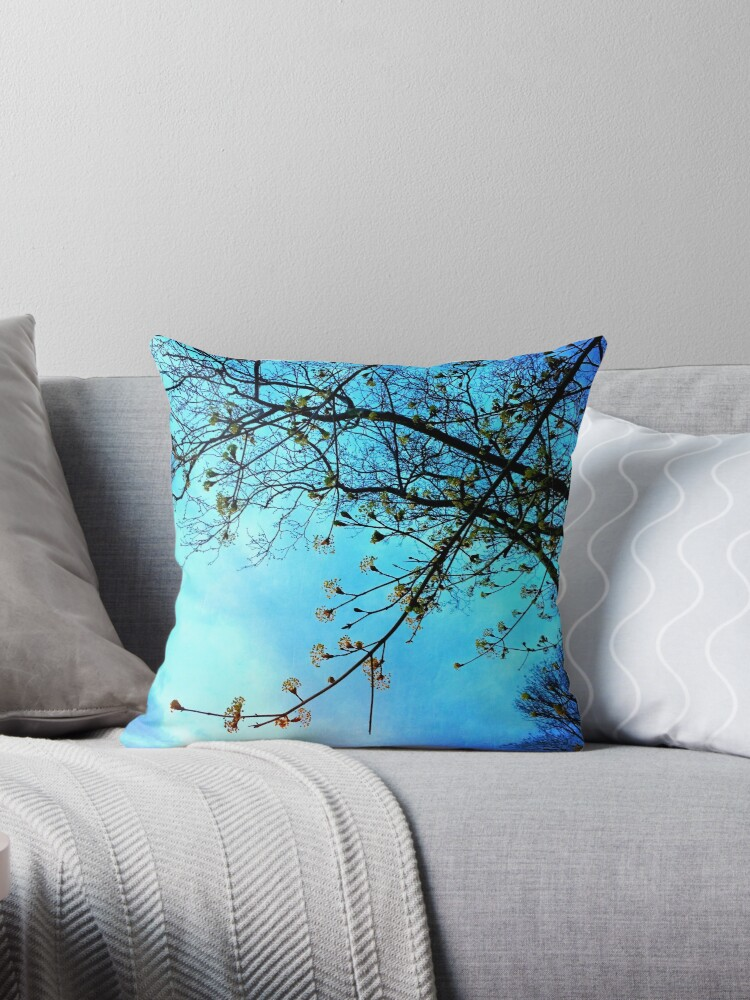 Gift for Nature Lovers - Spring blooms at dusk by OneDayArt