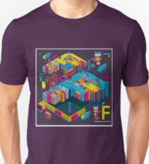 F graphics pattern 3 T-Shirt