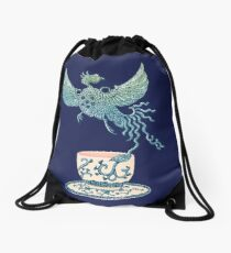 Phoenix Tea Drawstring Bag