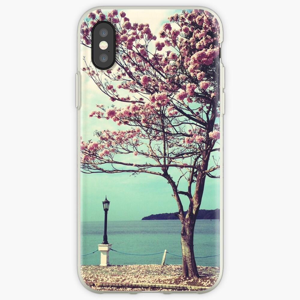 Blooms by the Sea - Panama Landscape  iPhone Case & Cover