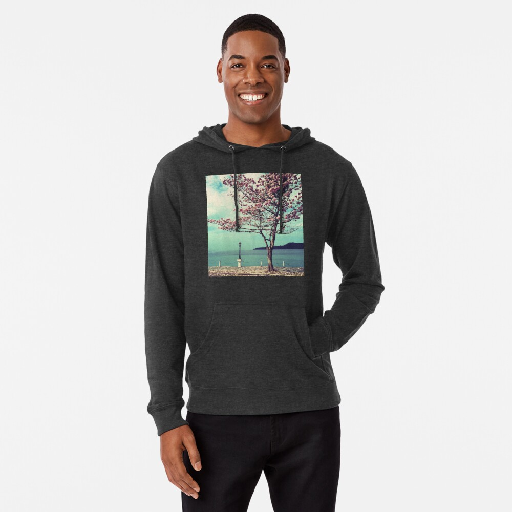 Blooms by the Sea - Panama Landscape  Lightweight Hoodie