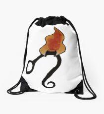 A Leos Fire Drawstring Bag