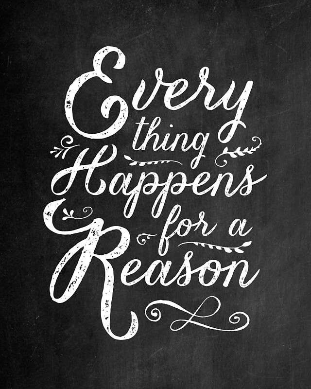 """Tattoo Quotes Everything Happens For A Reason: """"Everything Happens For A Reason"""" By Wolfandbird"""