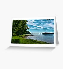 Spring Landscape in NH 5 Greeting Card