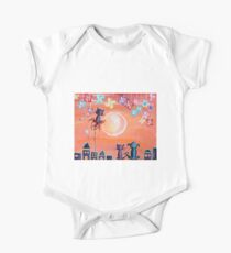 Our Favourite Sunset - For Children Paintings by Valentina Miletic One Piece - Short Sleeve