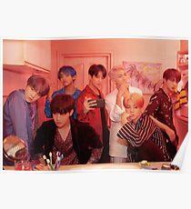 Póster BTS Persona - 2019 Foto grupal del mapa del alma
