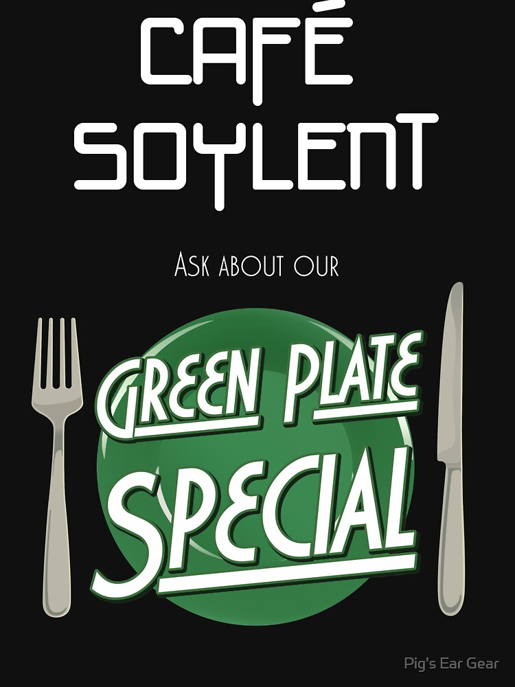 Soylent Cafe's Green Plate Special by adorman