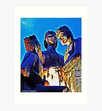 The Three Kings Of Juana Diaz Art Print