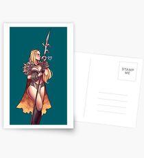 Warrior Nieve Postcards
