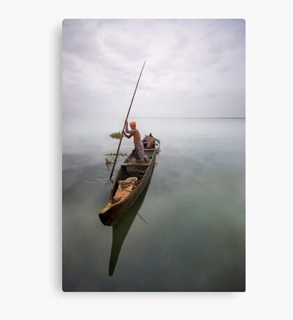 The fishing was good; it was the catching that was bad Canvas Print