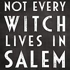 Not Every Witch Lives In Salem by wolfandbird