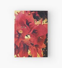 Sunset Bougainvillea Hardcover Journal
