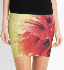 Sunset Bougainvillea Mini Skirt