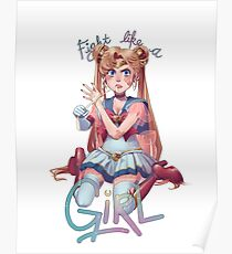 Like a Girl Poster
