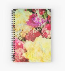 Springtime Bouquet Art Spiral Notebook