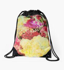 Springtime Bouquet Art Drawstring Bag