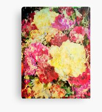 Springtime Bouquet Art Metal Print