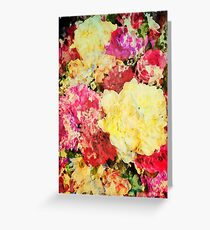 Springtime Bouquet Art Greeting Card