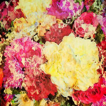Springtime Bouquet Art by OneDayArt
