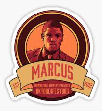 Brownstone Brewery: Marcus Bell Oktoberfestbier Sticker