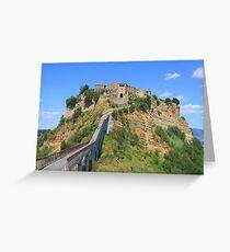 Civita de Bagnoregio, Italy Greeting Card