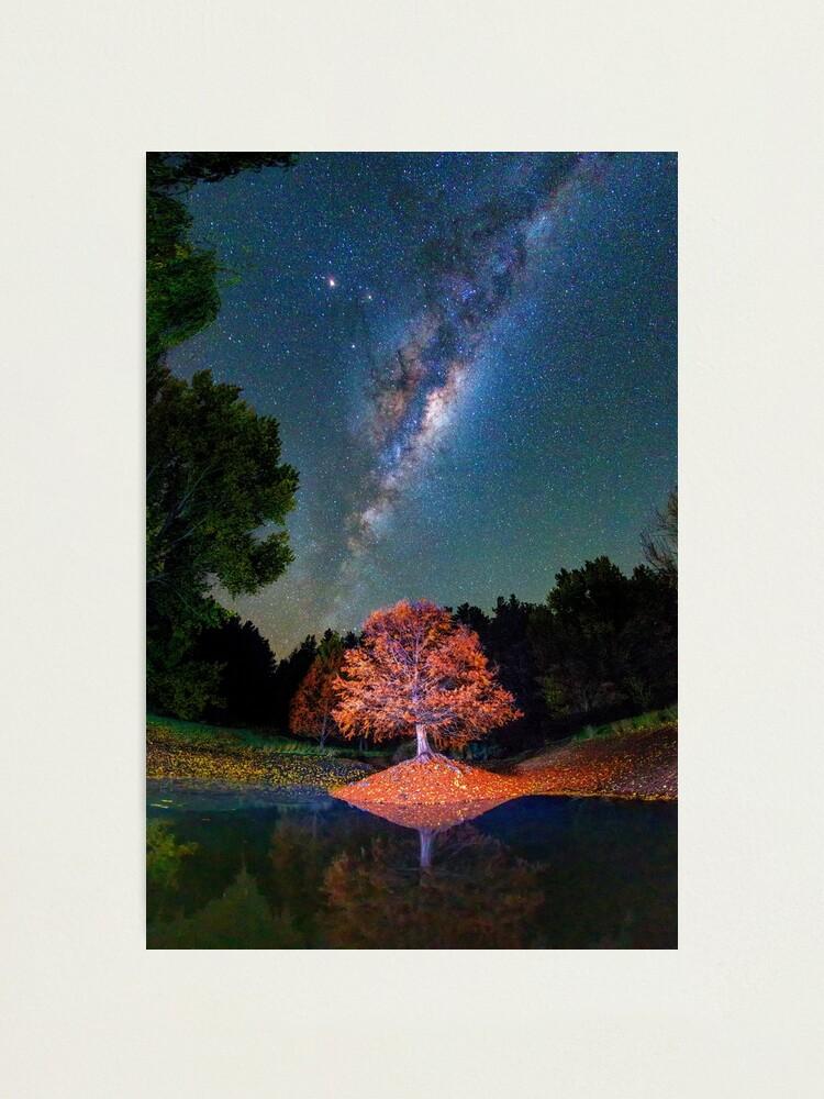 Alternate view of Night Skies over Balingup Photographic Print